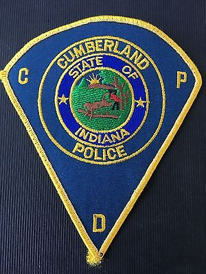 Cumberland  Indiana  Police   Shoulder  Patch
