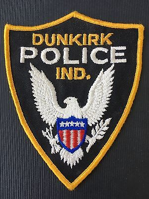 Dunkirk  Indiana  Police   Shoulder  Patch