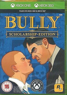 Bully Scholarship Edition  BRAND NEW Xbox One & Xbox 360 Game
