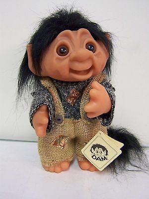 Dam  Forest  Troll Boy  With Tail &  Point Pointed Ears  New With Tag