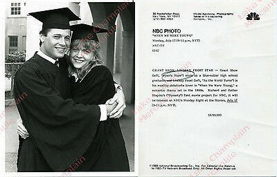 Ryan's Hope Grant Show ATWT Lindsay Frost Press Photo