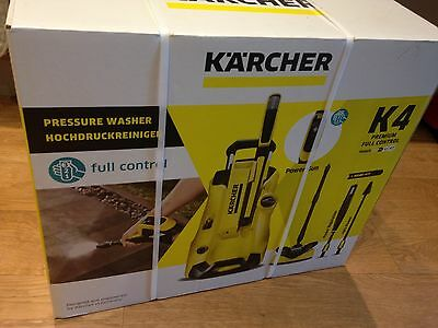 new in box karcher k4 premium full control home pressure washer package 1800w. Black Bedroom Furniture Sets. Home Design Ideas