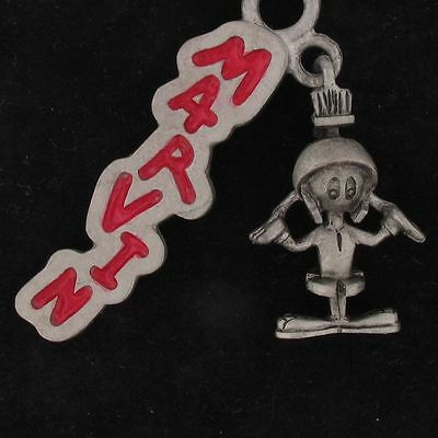 Charm Marvin The Martian Warner Bros Looney Tunes Pewter Red Name Wb Store 4064