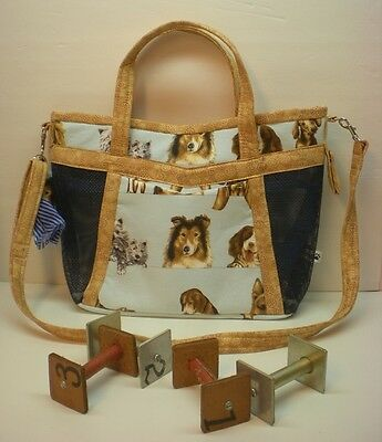 Handmade Obedience Article Bag Sheltie, Westie, Golden-Made in USA **CC**