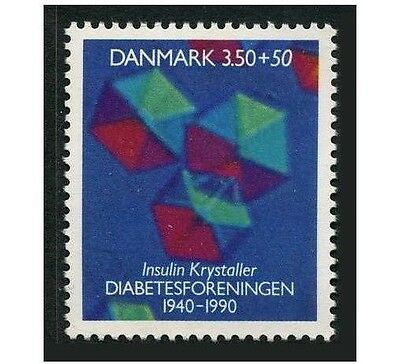 Denmark B75,MNH.Michel 985. Danish Diabetes Association,50th Ann.1990.