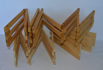 Two Sections of Breyer Horse Folding Wood Fence Corral