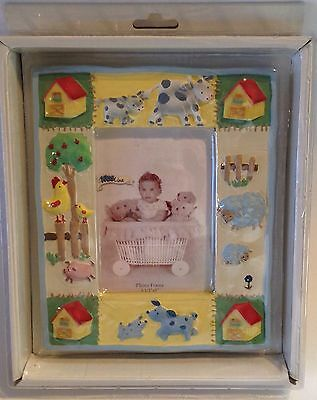 Kids Line Kidsline BARN YARD Barnyard PHOTO PICTURE FRAME Baby Nursery Decor