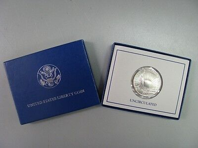 1986 Statue of Liberty Uncirculated Half Dollar Commemorative Coin US Mint