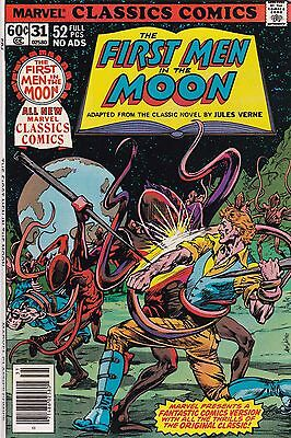1978 Marvel Classic Comics First Man On The Moon Comic Book #31