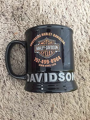 Harley davidson mug cup, Va Beach , South Side HD EX COND