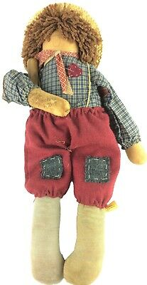 Attic Babies Rotten Wilbur Doll Country Primitive Marty Maschino Signed 1991