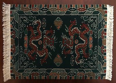 Fringed MOUSERUG (Mouse Pad) or 1:12 Scale LARGE Dollhouse Rug - Style #MR7