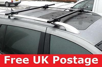 Lockable cross Car Roof Rack Rail Bars for seat exeo estate new
