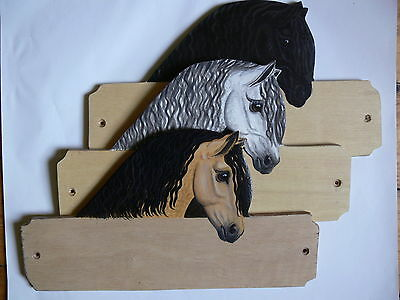 Andulusian horse/pony stable/stall/barn name plate/plaque/sign personalised gift