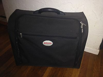 """Bernina Black Travel Carrying Case for Sewing Machine 21"""" x 17"""" x 10"""""""