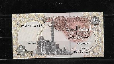 EGYPT EGYPTIAN #50i 2005 MINT CRISP POUND BANKNOTE PAPER MONEY CURRENCY  NOTE