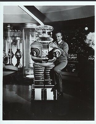Lost in Space 8x10 Black & white tv publicity photos - Lot of 4 different