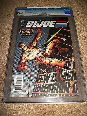 G.I. Joe #1 CGC 9.8 New Dimension Comics Exclusive Variant 21 Cover Snake-Eyes!