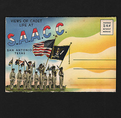 OPC WWII Views of Cadet Life San Antonio Aviation Cadet Center Picture Book