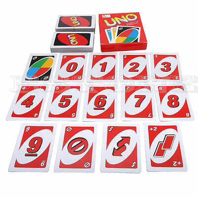 Family Children Friend Recreation Standard 108 Playing Fun Cards Uno Card Game