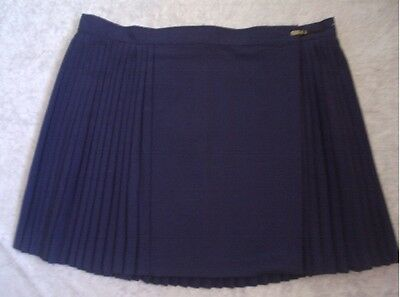 Ladies Netball Skirt New Size 16 + 18 + 20 Navy Blue