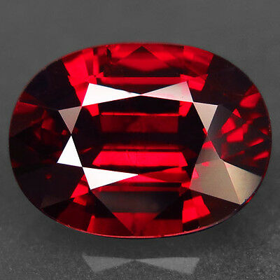 7.87ct.VERY BEAUTIFUL! 100%NATURAL TOP RED SPESSARTITE GARNET UNHEATED AAA BIG!