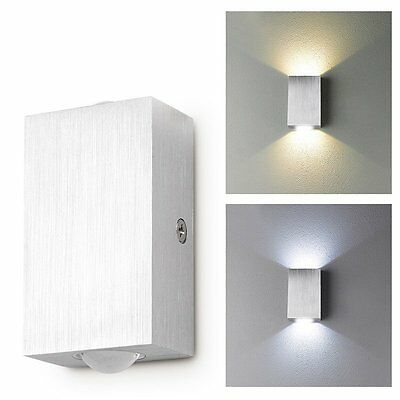 Modern Day/Warm White 2w LED Square Up Down Wall Lamp Spot Light Sconce Lighting