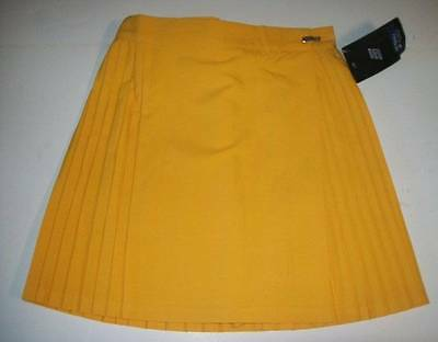 Ladies Netball Skirt New Size 18 + 20 + 22 + 24 Yellow