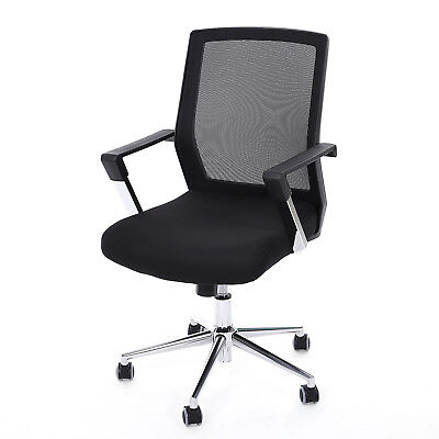 Swivel Office Chair Mesh Back Support Adjustable in Height Function OBN83B