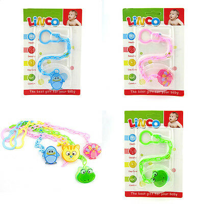 Baby Dummy Pacifier Soother Nipple Chain Clip Buckle Holder Feeding Product