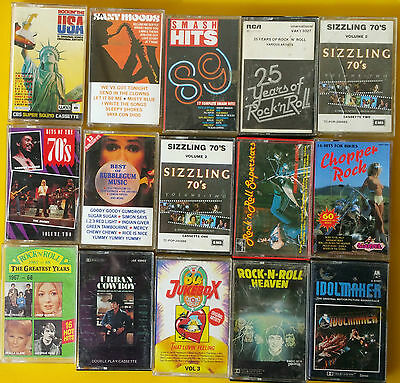 Lot of 15 mixed cassettes, good condition, going cheap, Lennon  Beatles Holly