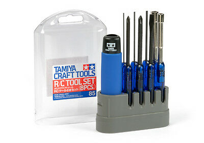 Tamiya RC Tool Set 8 Pieces # 74085