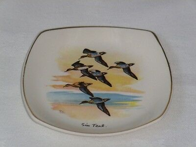 "MIDWINTER Stylecraft ""SIX TEAL"" by Peter Scott SMALL DISH ~ EXCELLENT"