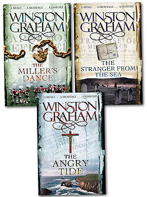 Winston Graham Poldark Series Books 7 - 9 Collection Set