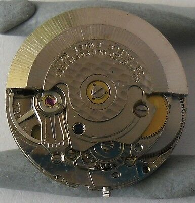 ETA 2783 Movement Working + Crown Hands Date Disk ETA 2783 Automatico Funciona