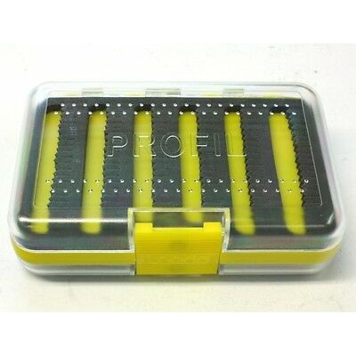 Leeda Profile Fly Box Available in Yellow & Black