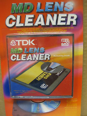 Tdk Md Lens Cleaner Mini Cd Dvd Cleaning Brush Disc Discs Sound Check
