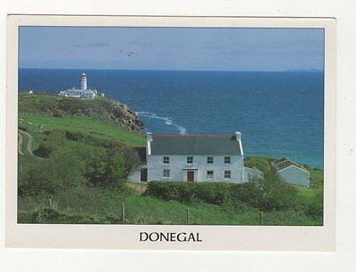 Fanad Lighthouse Donegal Ireland 1998 Postcard 870a
