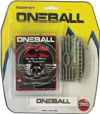 One Ball Jay Edger Kit Snowboard/Ski Servicing kit, Yellow/White