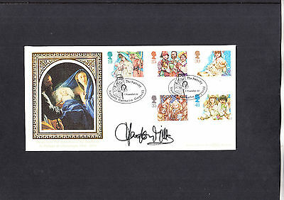 1994 Christmas Benham FDC signed by Hayley Mills
