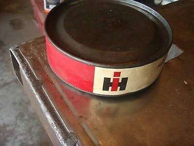 Vintage NOS IH International Harvester Tractor Bearing Case Advertising Can