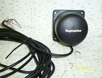 Boaters' Resale Shop Of Tx 1601 1421.04 RAYMARINE M81190 HEADING SENSOR ONLY