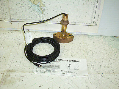 Boaters' Resale Shop of TX 1411 2441.15 AIRMAR DST52A THRU-HULL DEPTH TRANSDUCER