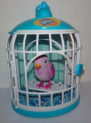 Little Live Pets Bird Cage : Interactive Toy Pet