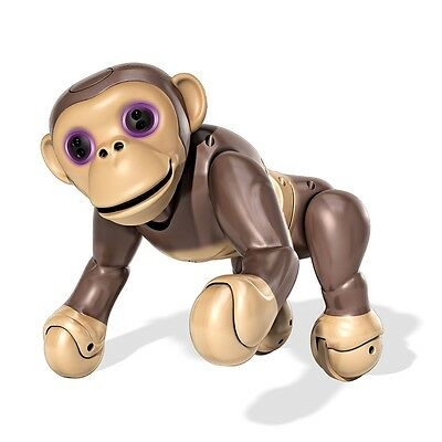 Zoomer Chimp Interactive Chimp with Voice Command Movement and Sensors