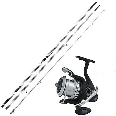 KP2486 Kit SurfCasting Canna Avocet PB 450 + Mulinello Mitchell Compact 800 RN