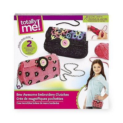 Totally Me! Sew Awesome Embroidery Clutches Kit