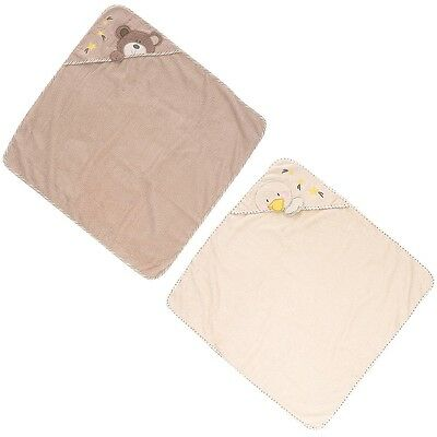 Babies R Us - B is For Bear Hooded Towels - 2-Pack