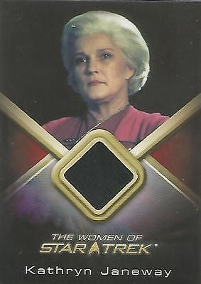 "Women of Star Trek - WCC2 Kate Mulgrew ""Kathryn Janeway"" Costume Card"