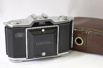 Zeiss Ikon Contina 522/24, 35mm Folding Camera & 45mm f/3.5 lens